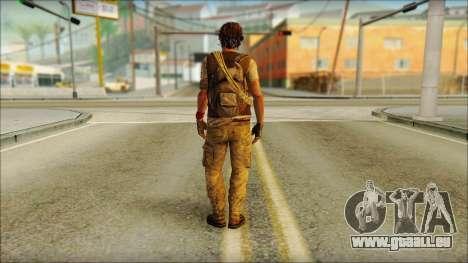 Adam (Je Suis Vivant) pour GTA San Andreas deuxième écran