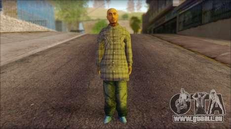 Los Aztecas Gang Skin v1 pour GTA San Andreas