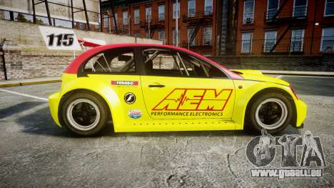Zenden Cup AEM pour GTA 4 est une gauche