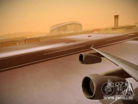 Airbus A340-300 Cathay Pacific pour GTA San Andreas moteur