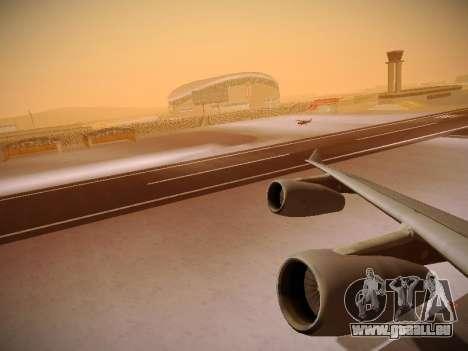 Airbus A340-300 Cathay Pacific für GTA San Andreas Motor