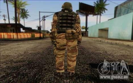 Les soldats de la MEK (Battlefield 2) de la Peau pour GTA San Andreas deuxième écran