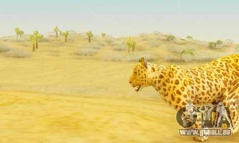 Leopard (Mammal) pour GTA San Andreas quatrième écran