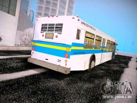 NewFlyer D40LF TransLink Vancouver BC für GTA San Andreas rechten Ansicht