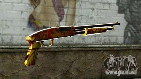 Dash Shotgun für GTA San Andreas zweiten Screenshot