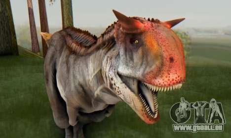 Carnotaurus für GTA San Andreas
