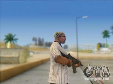 Israélien carabine ACE 21 pour GTA San Andreas cinquième écran