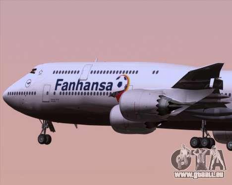 Boeing 747-830 Lufthansa - Fanhansa pour GTA San Andreas vue de côté