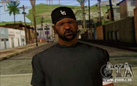 N.W.A Skin 4 pour GTA San Andreas troisième écran