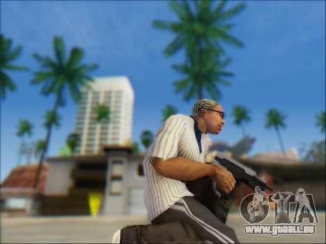 Uzi pour GTA San Andreas deuxième écran