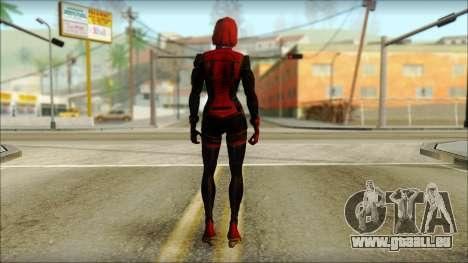 Mass Effect Anna Skin v3 pour GTA San Andreas deuxième écran