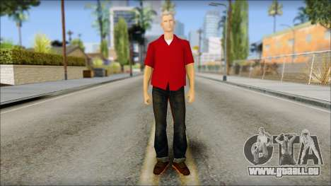 Biff from Back to the Future 1985 pour GTA San Andreas