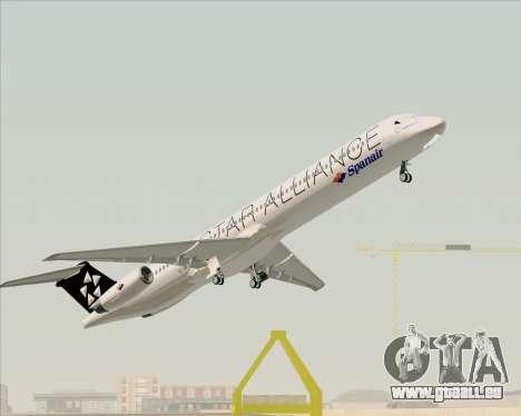 McDonnell Douglas MD-82 Spanair für GTA San Andreas Innen