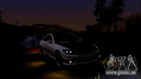Mercedes-Benz CL65 AMG pour GTA San Andreas laissé vue