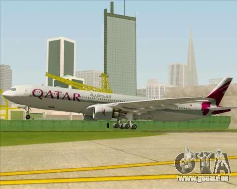 Airbus A330-300 Qatar Airways pour GTA San Andreas moteur