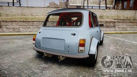 Mini Miglia [Updated] für GTA 4 hinten links Ansicht