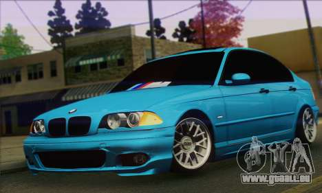 BMW 320i E46 für GTA San Andreas