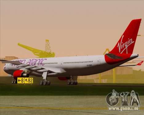 Airbus A330-300 Virgin Atlantic Airways pour GTA San Andreas vue de droite