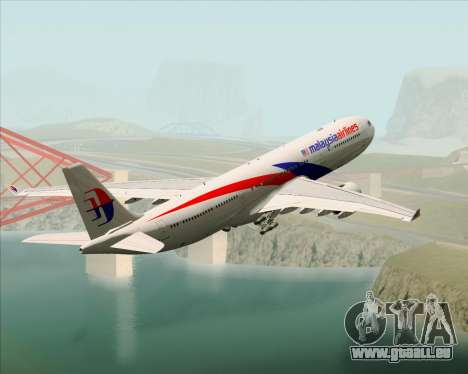Airbus A330-323 Malaysia Airlines pour GTA San Andreas