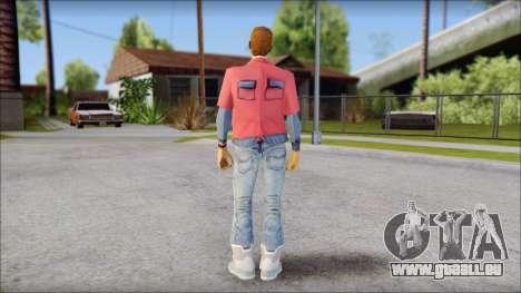 Marty with No Hat 2015 für GTA San Andreas zweiten Screenshot