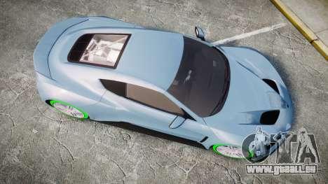 Zenvo ST1 2010 pour GTA 4 est un droit