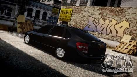 Lada Granta für GTA 4 Seitenansicht