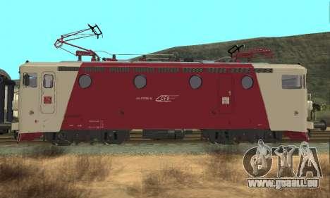 Le 3400Kw für GTA San Andreas rechten Ansicht