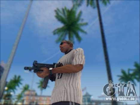 Israélien carabine ACE 21 pour GTA San Andreas septième écran