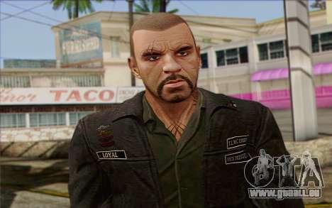 Johnny Klebitz From GTA 5 für GTA San Andreas dritten Screenshot