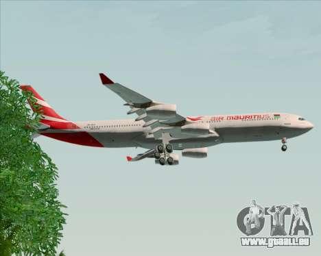 Airbus A340-312 Air Mauritius pour GTA San Andreas roue