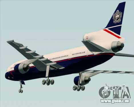 Lockheed L-1011 TriStar British Airways pour GTA San Andreas vue de droite