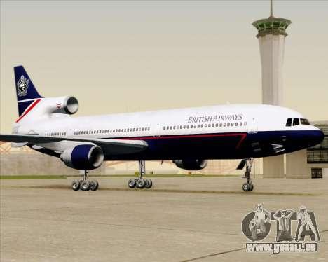 Lockheed L-1011 TriStar British Airways für GTA San Andreas obere Ansicht