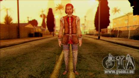 Ezio from Assassins Creed pour GTA San Andreas