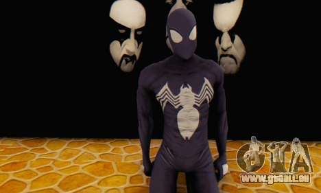 Skin The Amazing Spider Man 2 - Suit Symbiot für GTA San Andreas