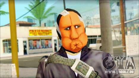 Rob v3 pour GTA San Andreas troisième écran