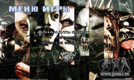 Metal Menu - Slipknot pour GTA San Andreas