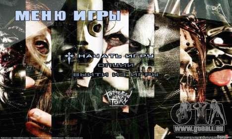 Metal Menu - Slipknot für GTA San Andreas