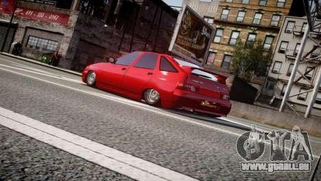 VAZ 2112 pour GTA 4 Vue arrière