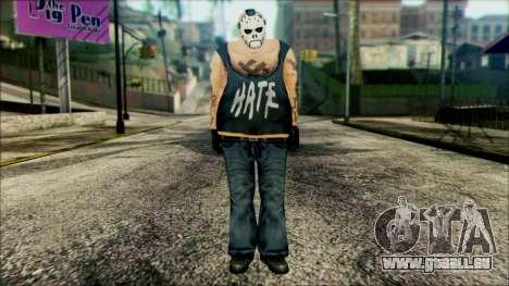 Manhunt Ped 11 pour GTA San Andreas