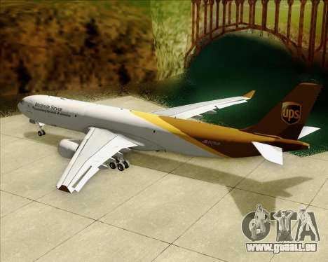 Airbus A330-300P2F UPS Airlines für GTA San Andreas Motor