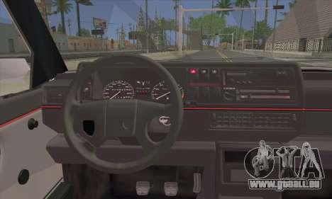 Volkswagen Club Mk2 pour GTA San Andreas sur la vue arrière gauche