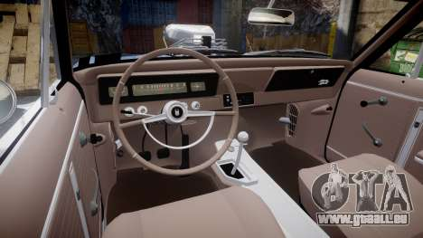 Chevrolet II Nova SS 1966 Custom [EPM] PJ1 für GTA 4 Rückansicht