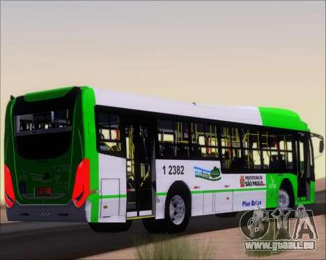 Caio Induscar Millennium BRT Viacao Gato Preto pour GTA San Andreas vue de droite