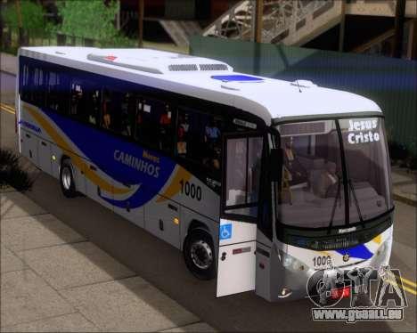 Marcopolo Ideale 770 - Volksbus 17-230 EOD pour GTA San Andreas vue de dessus