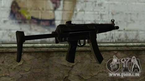 TheCrazyGamer MP5 für GTA San Andreas zweiten Screenshot