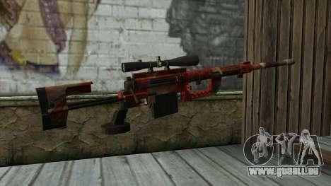 Sniper Rifle from PointBlank v3 für GTA San Andreas zweiten Screenshot