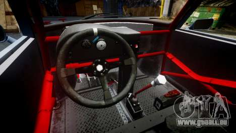 Mini Miglia [Updated] pour GTA 4 est une vue de l'intérieur
