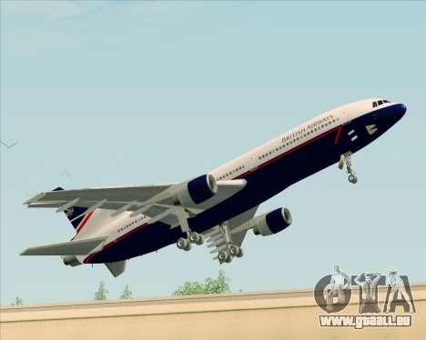 Lockheed L-1011 TriStar British Airways pour GTA San Andreas laissé vue
