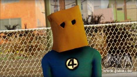 Spiderman pour GTA San Andreas troisième écran