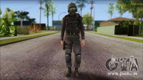 Australian Soldier für GTA San Andreas